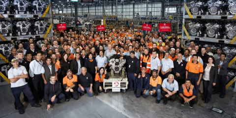 Holden builds millionth High Feature V6 engine