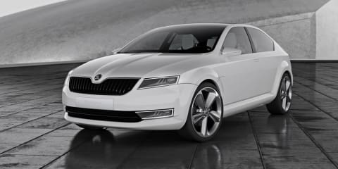 UPDATE: Skoda VisionD Design Study reveals new logo, design language
