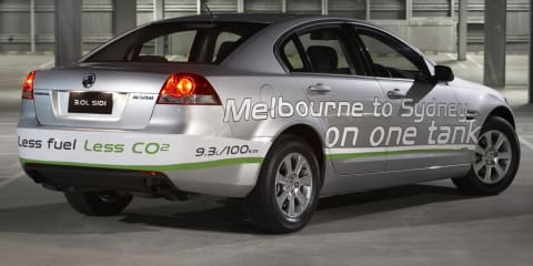Holden Commodore - new engines, same look