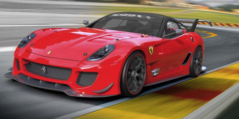 Ferrari 599XX Evolution revealed at Bologna Motor Show