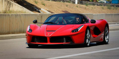 2017 Ferrari LaFerrari Aperta spied in Spain