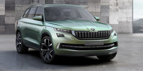 2017 Skoda SUV previewed with new VisionS concept, plug-in hybrid power on board