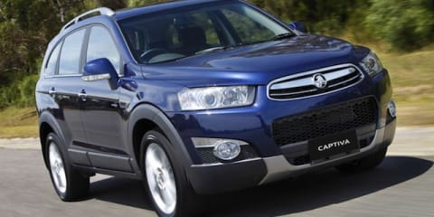 Holden Captiva: fuel savings headline updates to SUVs