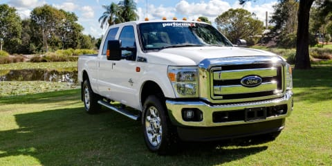 Ford F-Series to be built in Australia