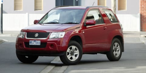 2008-2011 Suzuki Grand Vitara recalled in Australia