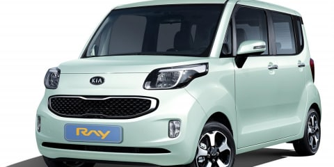 Kia Ray revealed: Only for Korea