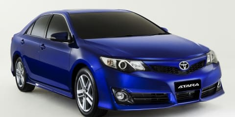 2011 Toyota Camry Atara unveiled, on sale in Australia in November