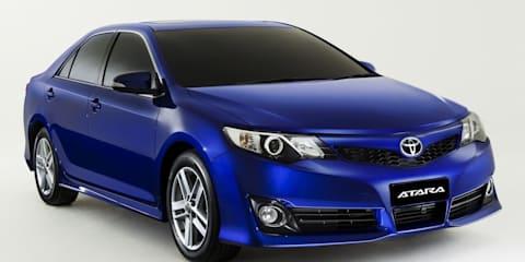 2011 Toyota Camry Atara unveiled, on sale in Australia in November