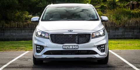 Next Kia Carnival to debut in April, hybrid and turbo four options expected – report