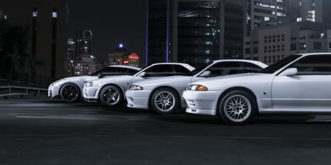 We test every generation of Nissan GT-R from the R32 to the R35, on the same dyno