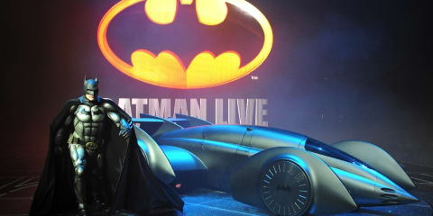 Batman Live Batmobile designed by Gordon Murray