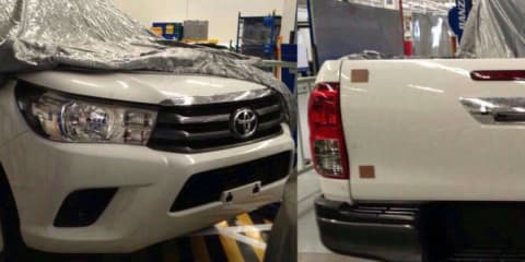 2016 Toyota HiLux images leak online — UPDATED with interior photo