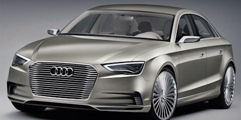 Audi A3 e tron Concept unveiled at Auto Shanghai 2011