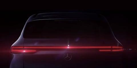 2019 Mercedes-Benz EQC teased
