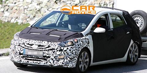 New Hyundai i30 spy photos