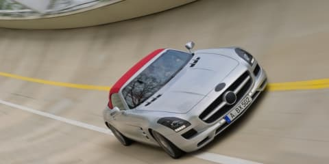 2012 Mercedes-Benz SLS Roadster revealed