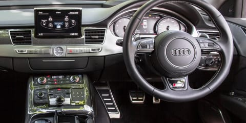 Audi S8 with 19-speaker Bang & Olufsen premium sound system