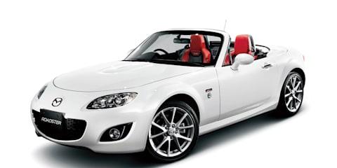 Mazda releases 20th anniversary MX-5