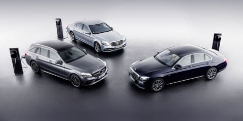 Mercedes-Benz reveals diesel plug-in hybrids