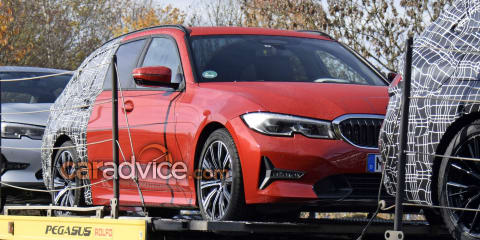 2019 BMW 3 Series Touring spied with less camouflage