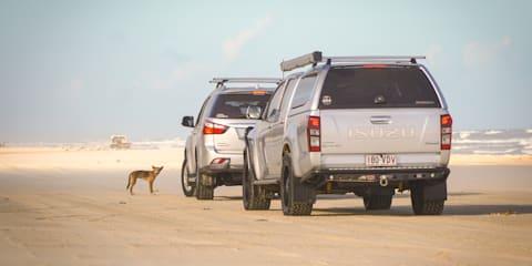 Off-roading Fraser Island on the Isuzu I-Venture