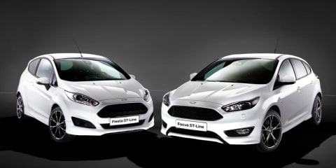 Ford Fiesta and Focus ST-Line sports packs revealed