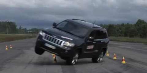 Chrysler defends Jeep Grand Cherokee against rollover criticism