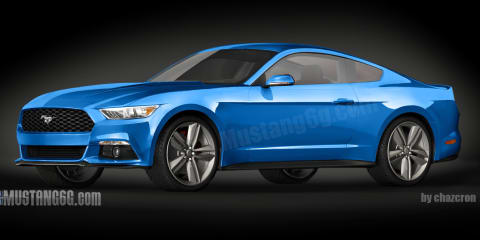 2015 Ford Mustang: accurate renderings claimed by fan site