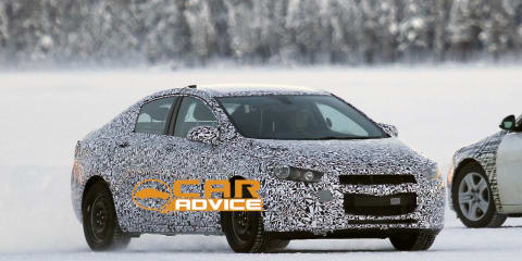 2016 Holden Cruze: next-generation Aussie spied