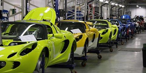 British car production drops 59 per cent