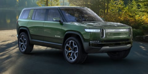 Rivian R1S electric SUV unveiled