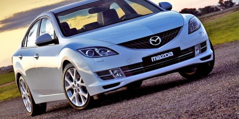 Mazda, Mitsubishi post first-half loss
