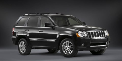 Jeep Grand Cherokee Overland badge returns to lineup in 2010