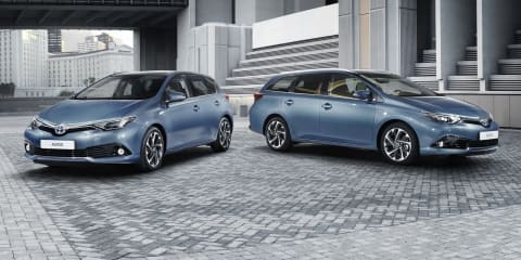 2015 Toyota Corolla facelift revealed