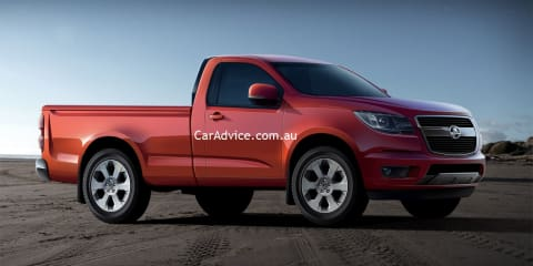 2012 Holden Colorado revealed in patent leak
