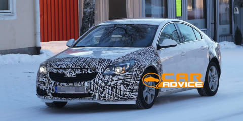 2013 Opel Insignia facelift spied