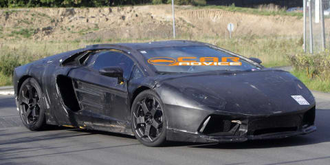 Lamborghini Jota spy shots expose more detail