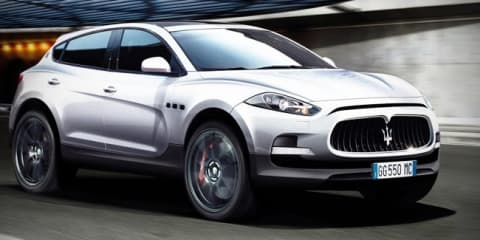 Maserati SUV to get HEMI V8, not Ferrari power