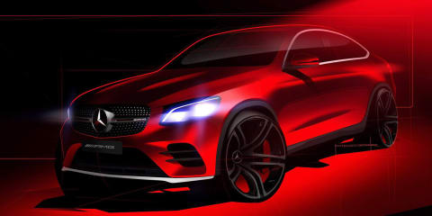 2017 Mercedes-AMG GLC43 4Matic sketched out ahead of New York debut