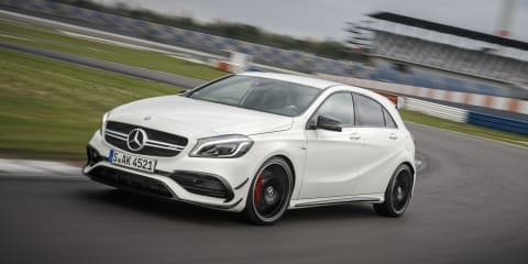 2016 Mercedes-AMG A45 4Matic Review: Track test