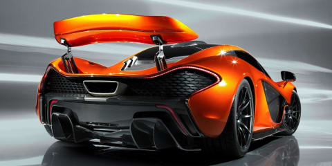 McLaren P1 leaked photo gallery reveals massive rear wing