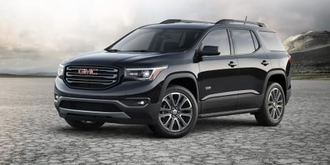 2016 GMC Acadia revealed in Detroit