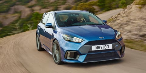 2016 Ford Focus RS quicker than Golf R, S3, WRX STI