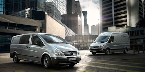 2010 Mercedes-Benz Sprinter, Vito released in Australia