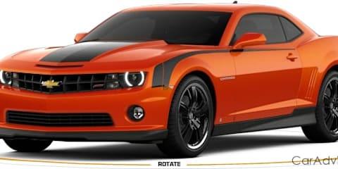 GM launches online Camaro creator