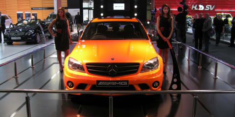 Mercedes-Benz C63 AMG Orange at 2010 AIMS
