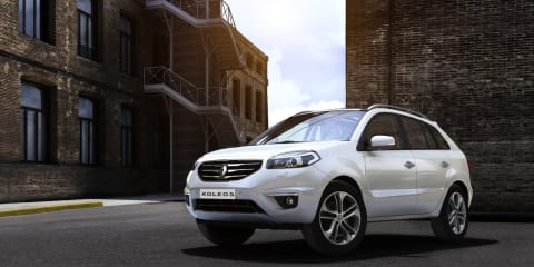 2012 Renault Koleos specifications revealed, on sale in Australia late-2011