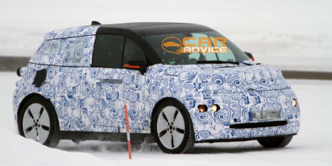 2014 BMW i3 caught winter testing