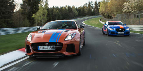 Jaguar F-Type SVR and XJR575 join Ring Taxi fleet
