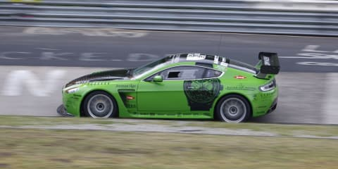 Aston Martin at the Nurburgring 24-Hour Race
